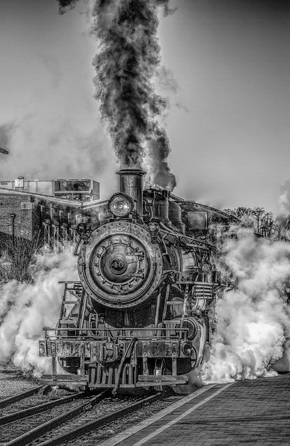 Steam Train, Steam Engine, Railroad - Free image - 166542